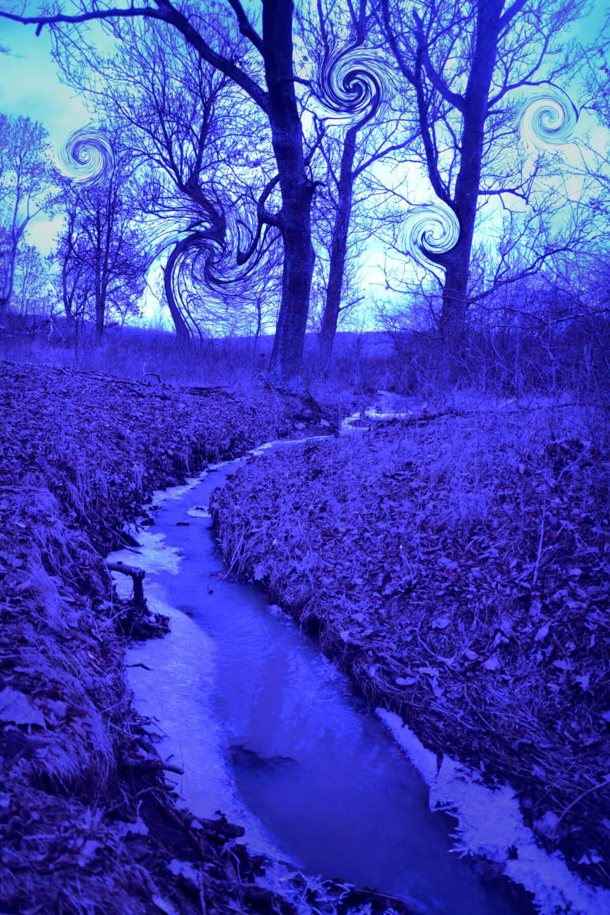 Eckhard Ischebeck - Blue river